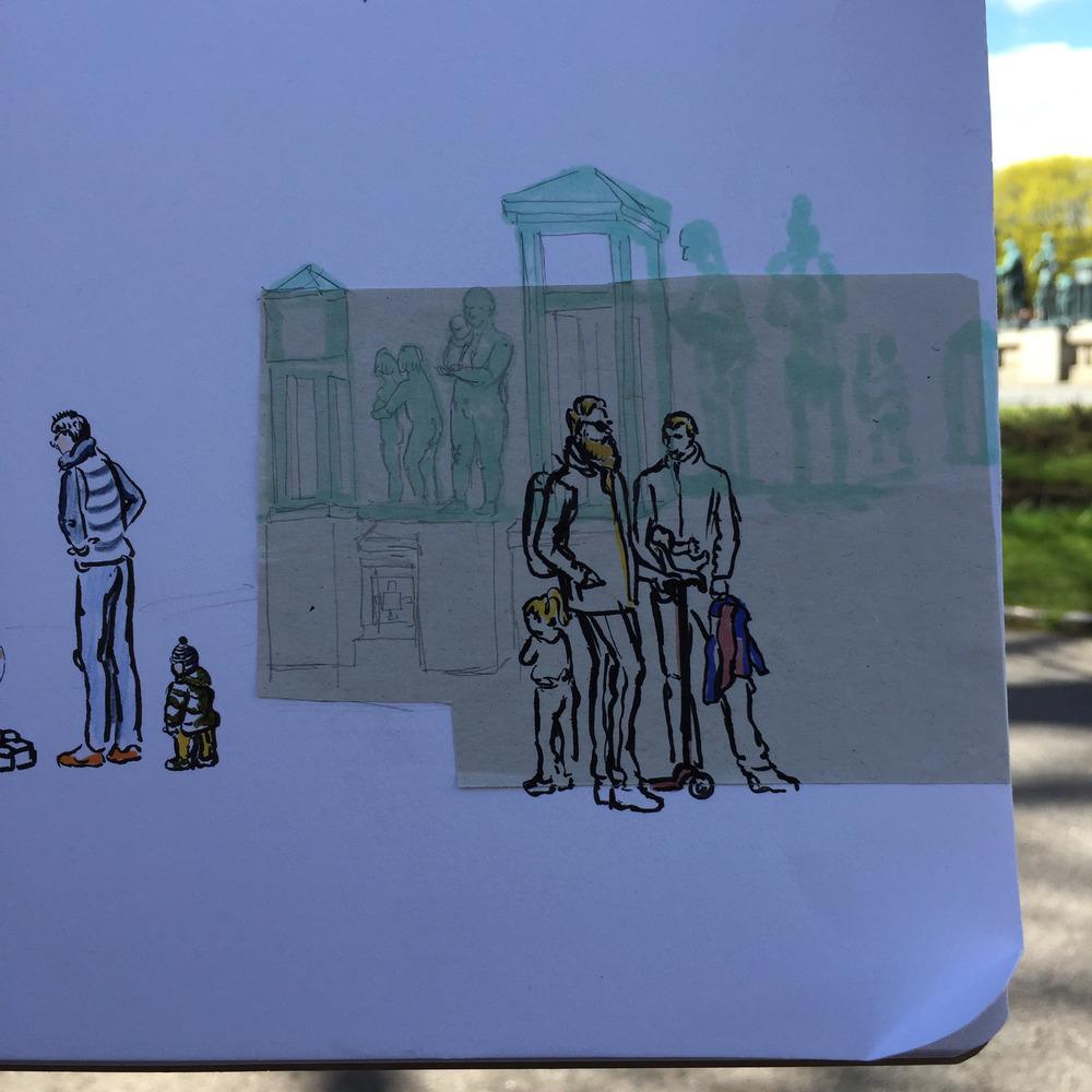 Vigeland, Frogner Park - Oslo, Norway