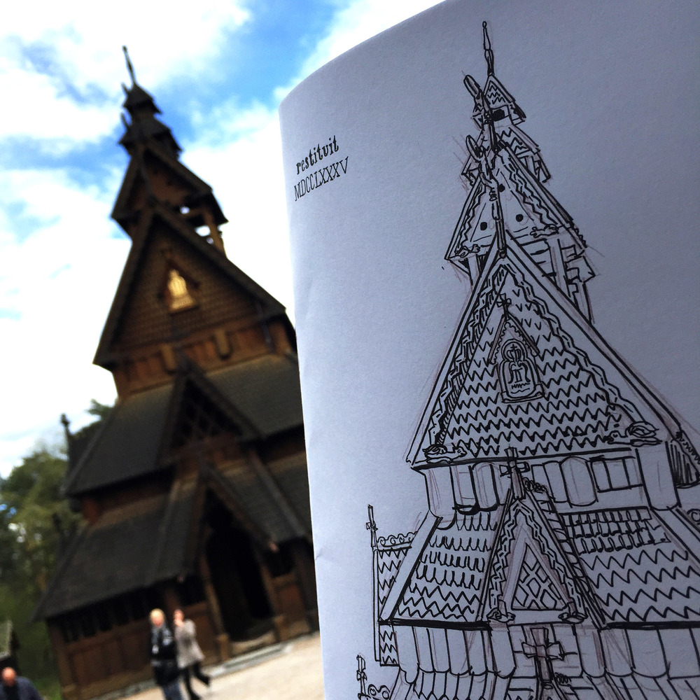 Gol Stave Church - Oslo, Norway
