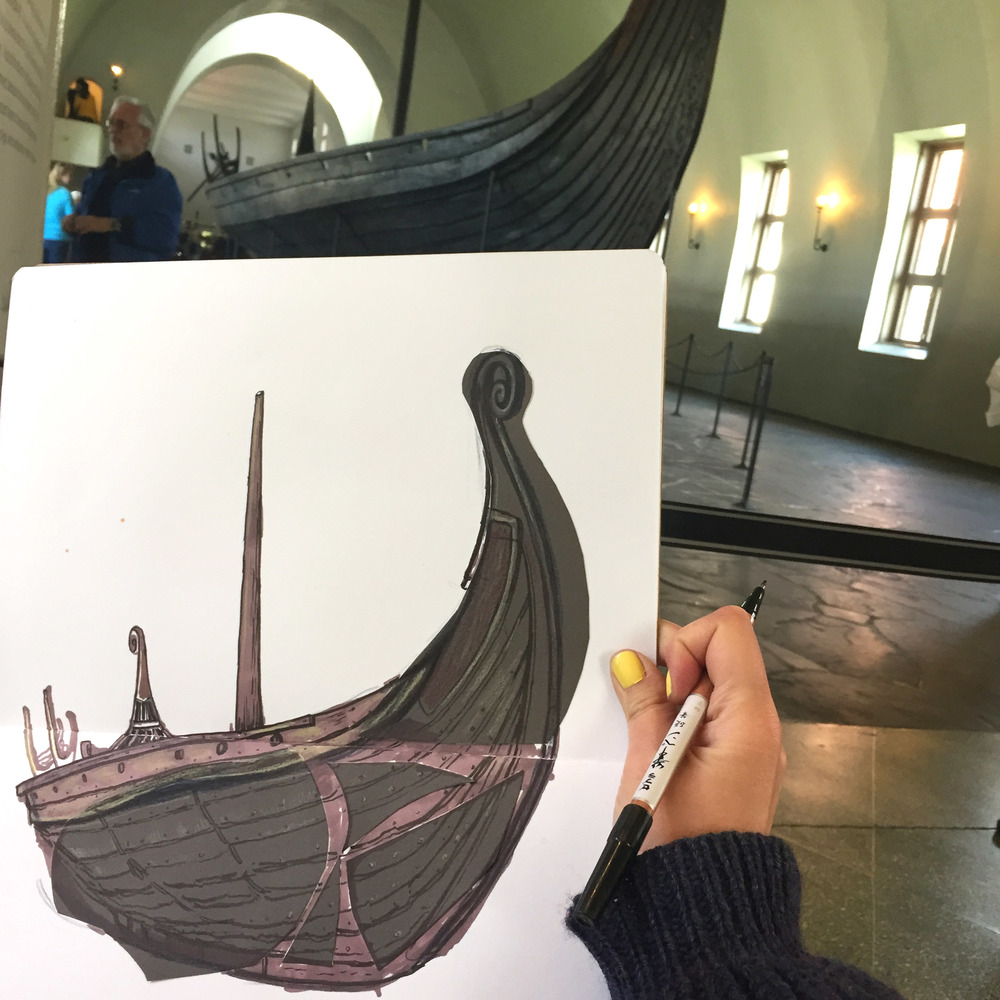 Viking Ship Museum - Oslo, Norway