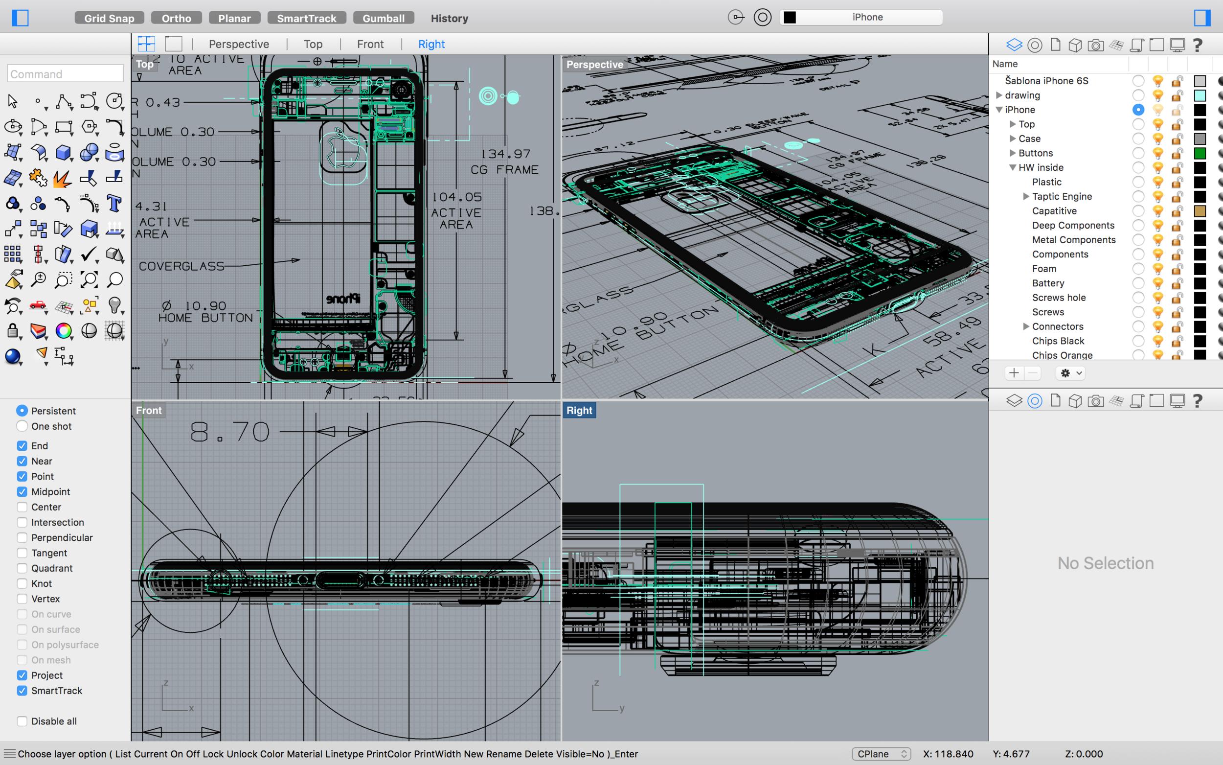 Základom bolo nákres a jeho pretvorenie do 3D podoby - svetapple.sk