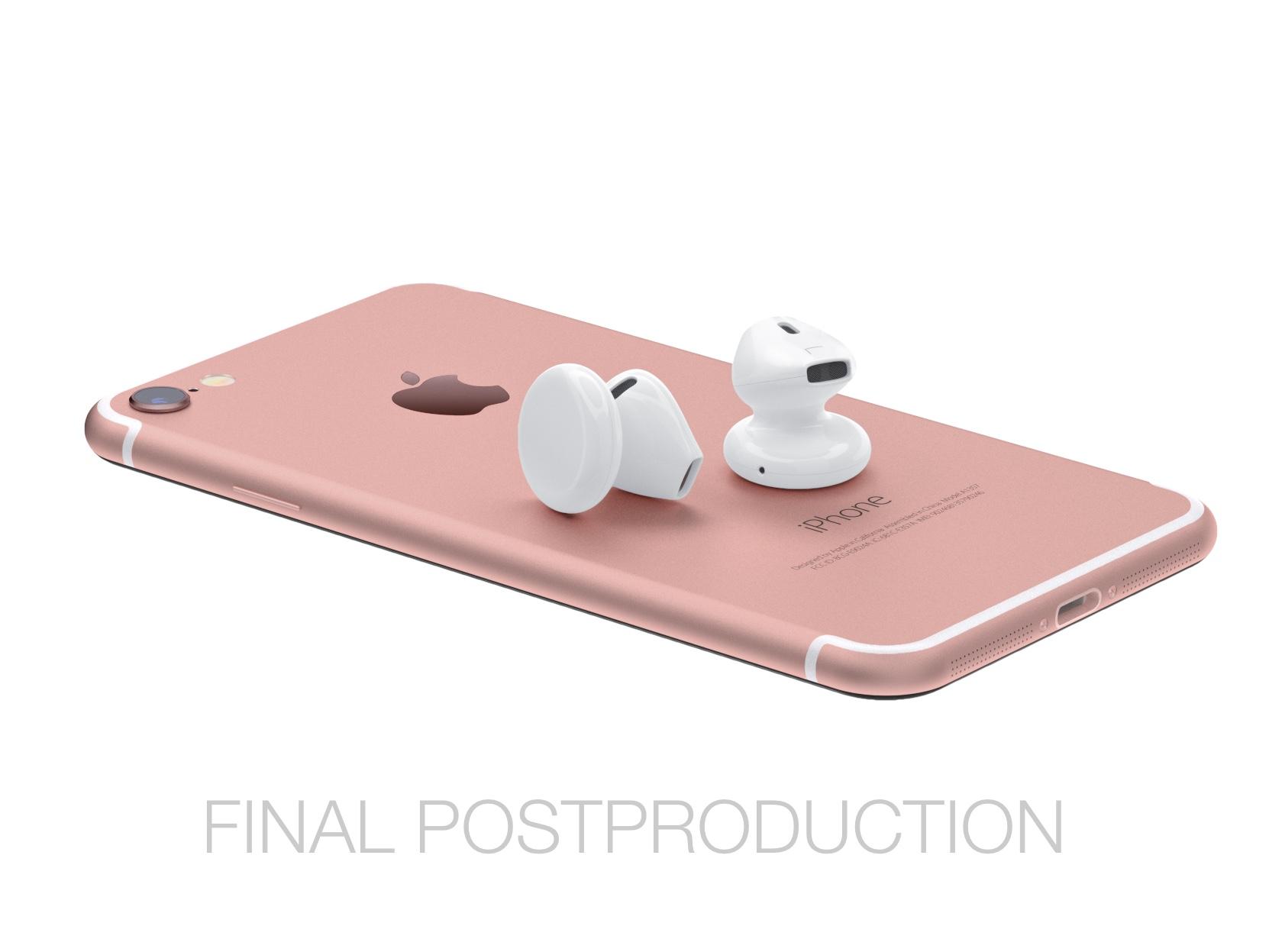 Nakoniec tu máme modeláciu bezdrôtových slúchadiel EarPods - svetapple.sk