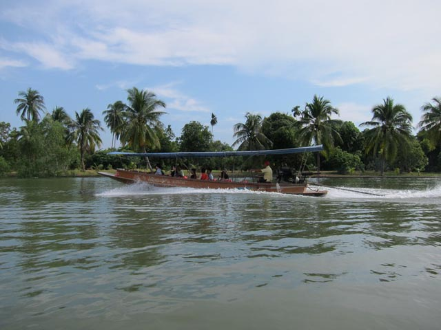 River Boat Ride on Mae Klong River