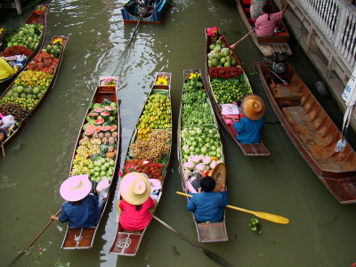 1/2 Day Floating Market