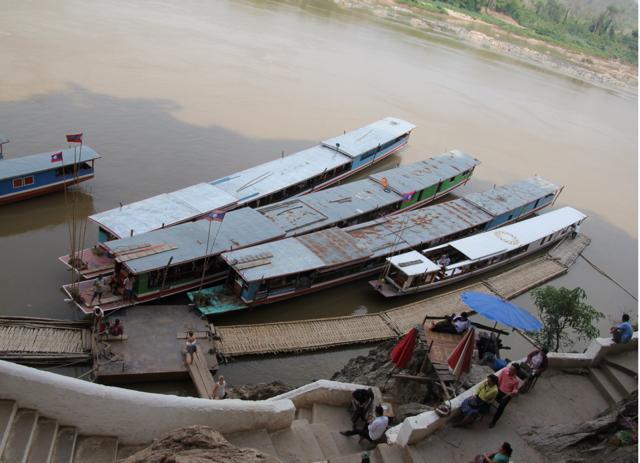 Slow Boat Pier, Pak Beng