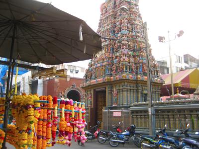 Hindu Temple on Silom Rd.