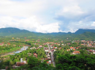Luang Prabang from Phou Si Hill