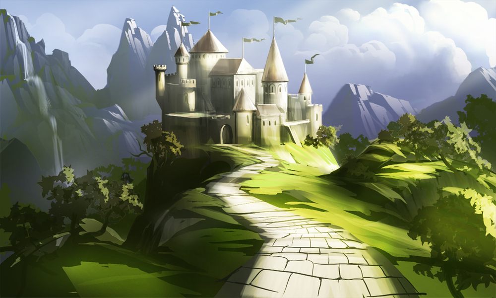 Amazingly for an article on AI, a relevant picture of a fairy tale castle not inspired by Google Dream Deep...  Image  source