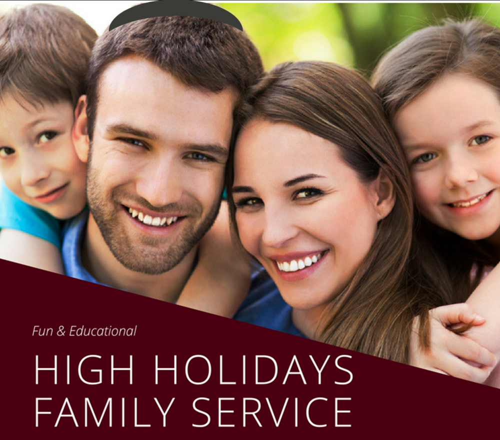 HIGH HOLIDAYS FAMILY SERVICE -   LED BY RIVKY GANSBURG