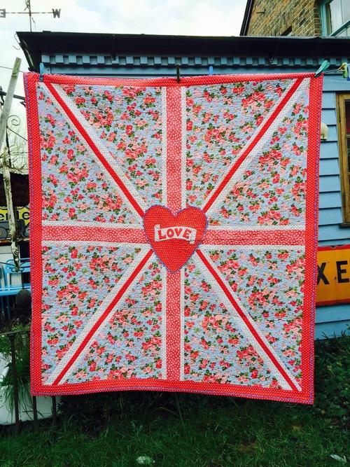 Union Jack Quilt Pattern — Dandelion Designs : union jack quilt - Adamdwight.com