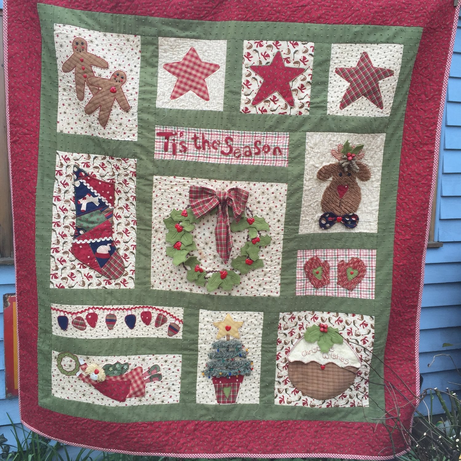 Tis the Season Quilt Pattern — Dandelion Designs : tis the season quilt book - Adamdwight.com