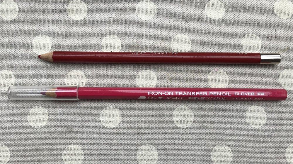 Heat transfer pencils