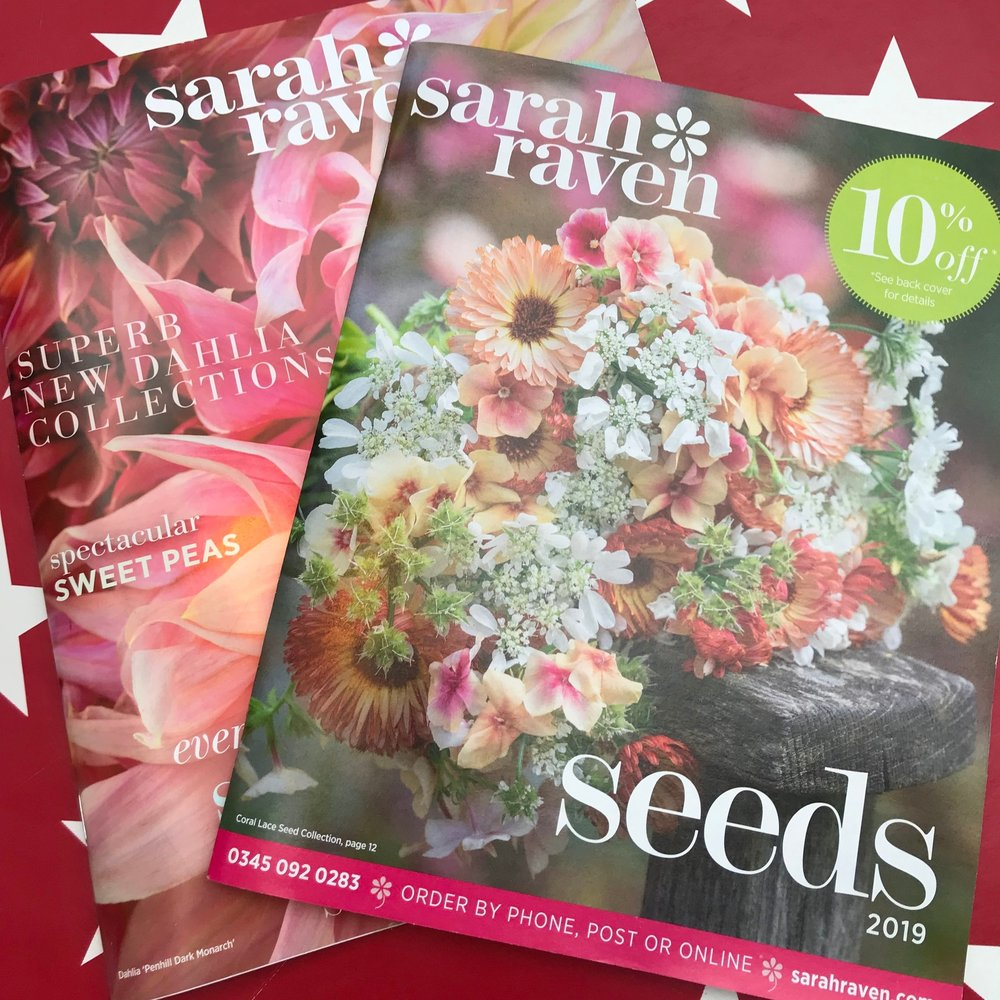 Sarah Raven seeds and plants are Mandy's favourites!