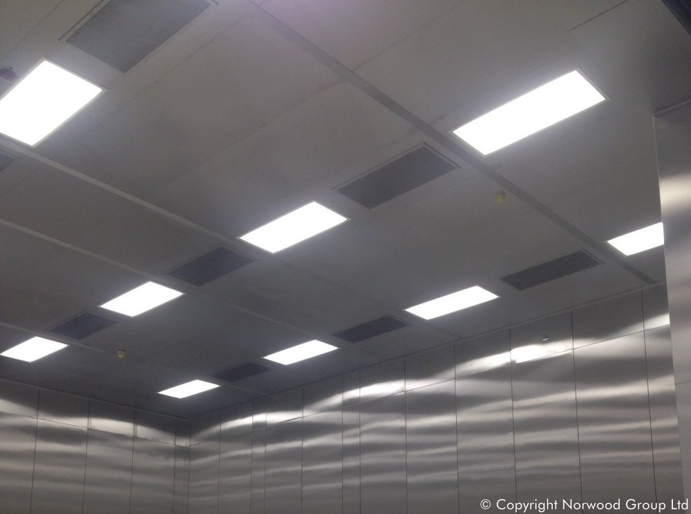 Mars Rover Bespoke stainless steel cleanroom walk on ceiling