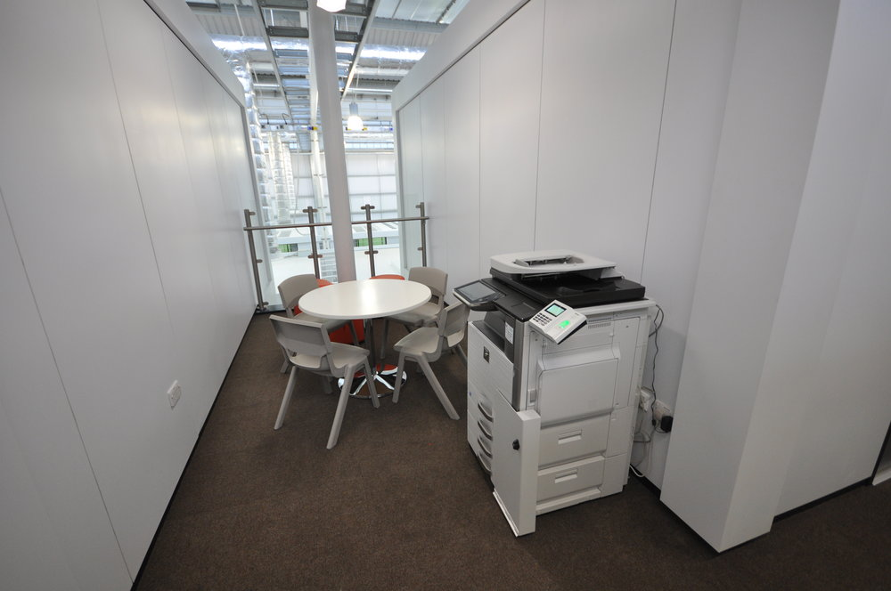 Leeds East Academy White Foodsafe Steel Partitions JPG