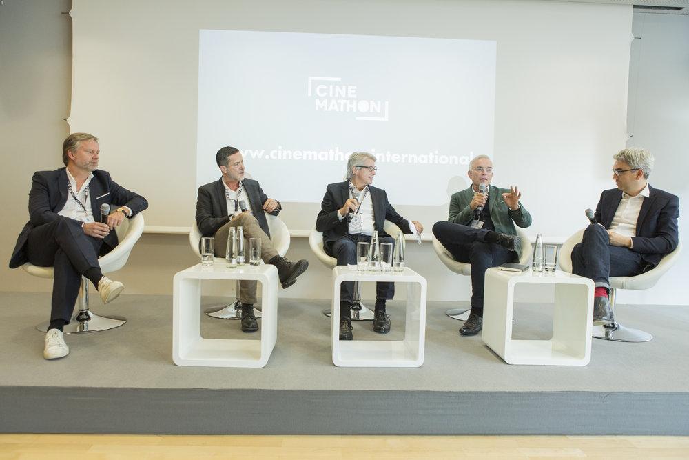v.l.n.r Oliver Koppert, Roger Crotti, Arno Ortmair, Thomas Negele, Erwin Schmidt