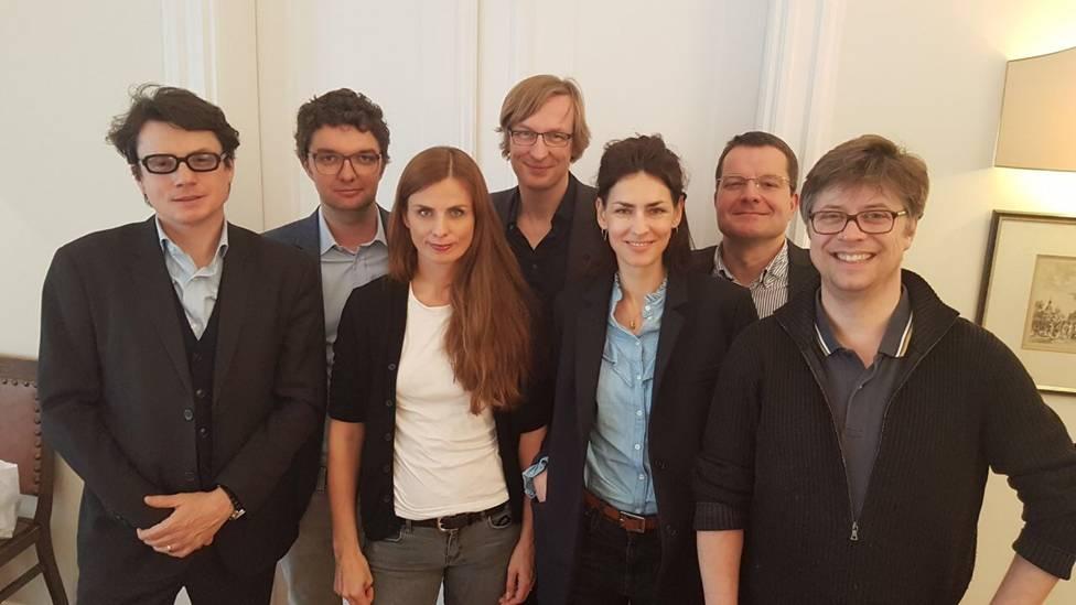 v.l.n.r: Philipp Kreuzer, Gian-Piero Ringel, Janine Jackowski, Karsten Stöter, Susa Kusche, Christian Balz, Marco Mehlitz