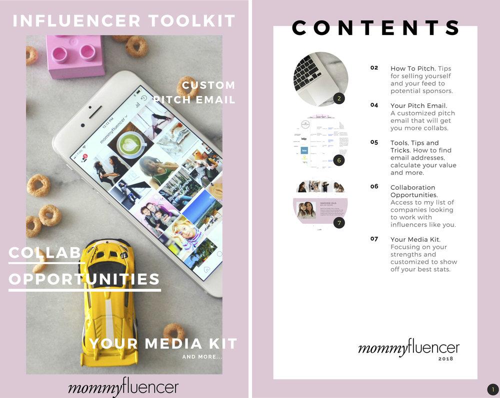 mommyfluencer influencer toolkit