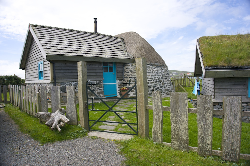 Lamraig Thatched Cottage, Isle of Berneray, Outer Hebrides.