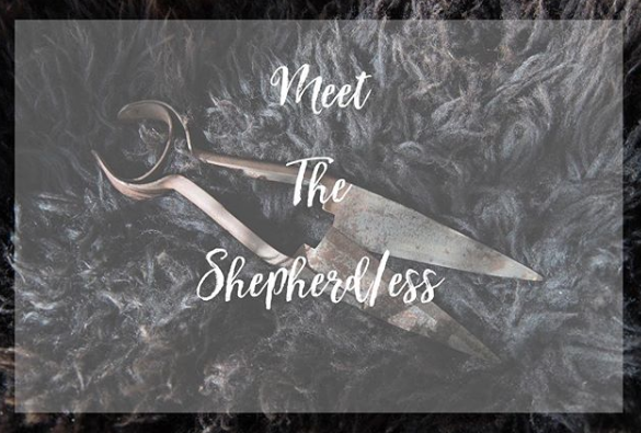 EDINBURGH YARN FESTIVAL - THE BIRLINN YARN COMPANY - MEET THE SHEPHERDESS