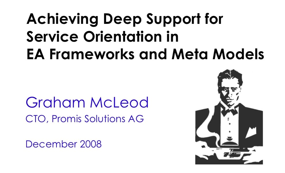 Achieving Deep Support for Service Orientation in EA Frameworks and Meta Models