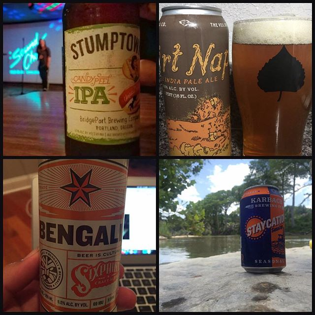 Shout out to Beer Nuts Jorge Villarreal, Jeremy Peck, Alan Bush, and Brandi Dunagan for sharing their weekend beers with me! You can show me YOUR beers by joining the She's Crafty Beer Nuts group on FB!