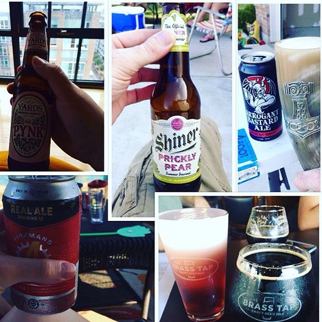 Shout out to #beernuts Eugene Von Bon, Rhiannon Menshew, Jorge Villarreal, and David Brandvold for showing me their #4thofjuly beers! You can show me YOUR beers by joining the She's Crafty Beer Nuts group on FB!