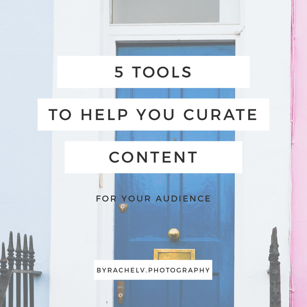 Content curating will help you stop staring at the screen and get you moving to write and connect with your audience!