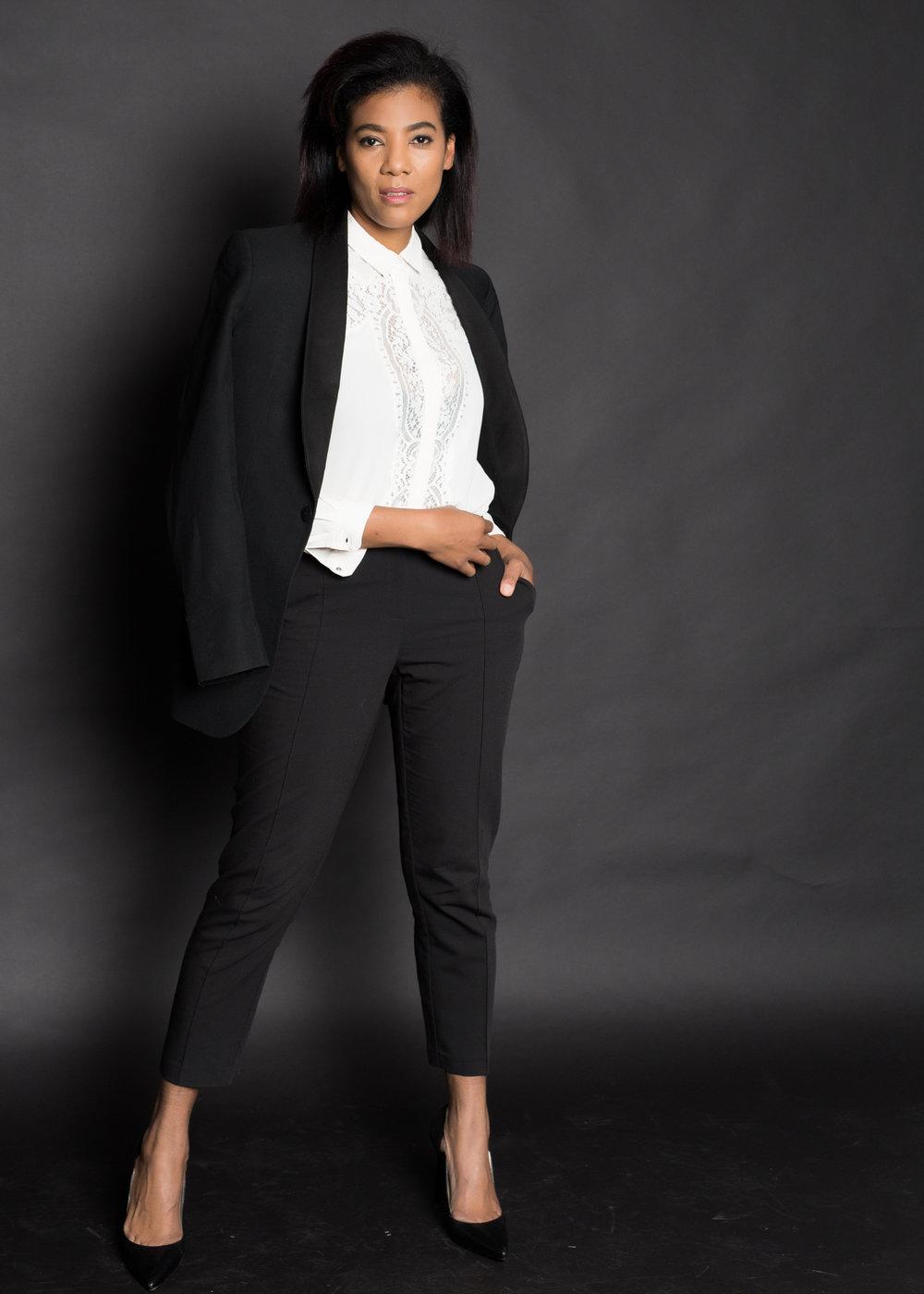 Elegant business portrait