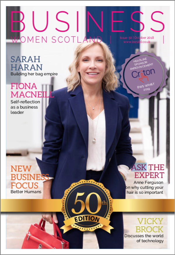 A business portrait for a magazine cover!