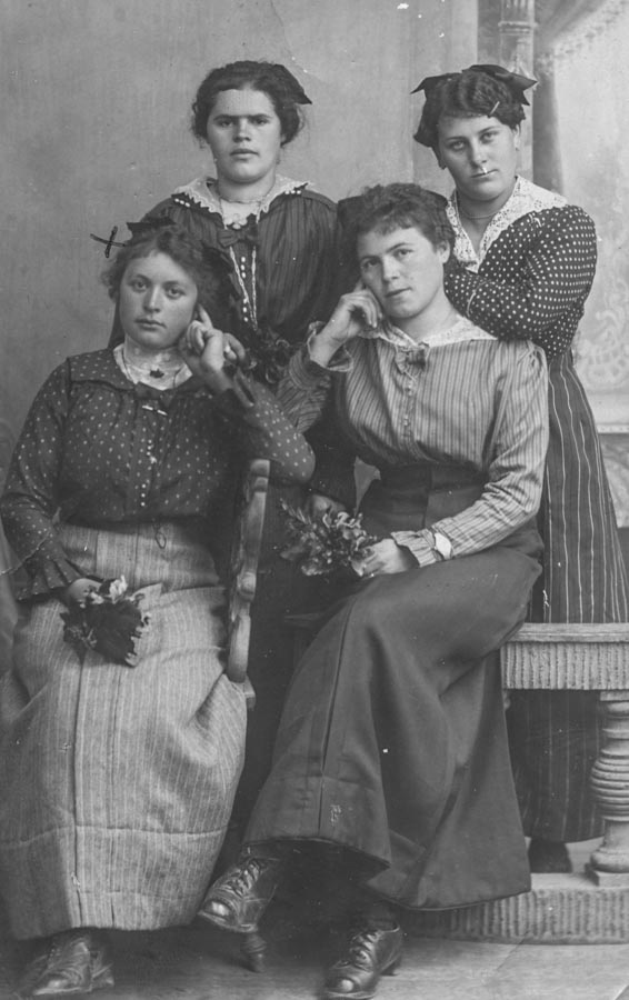 The Halter sisters, one of them was my great grandmother