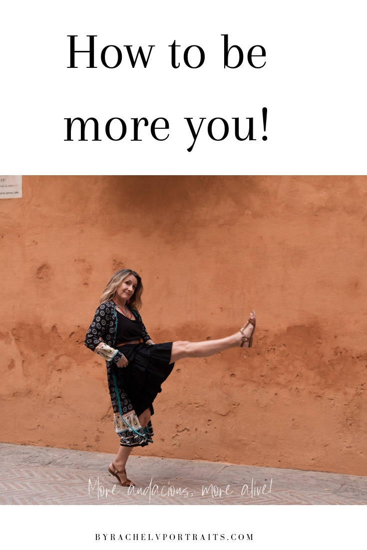 How to be more you!