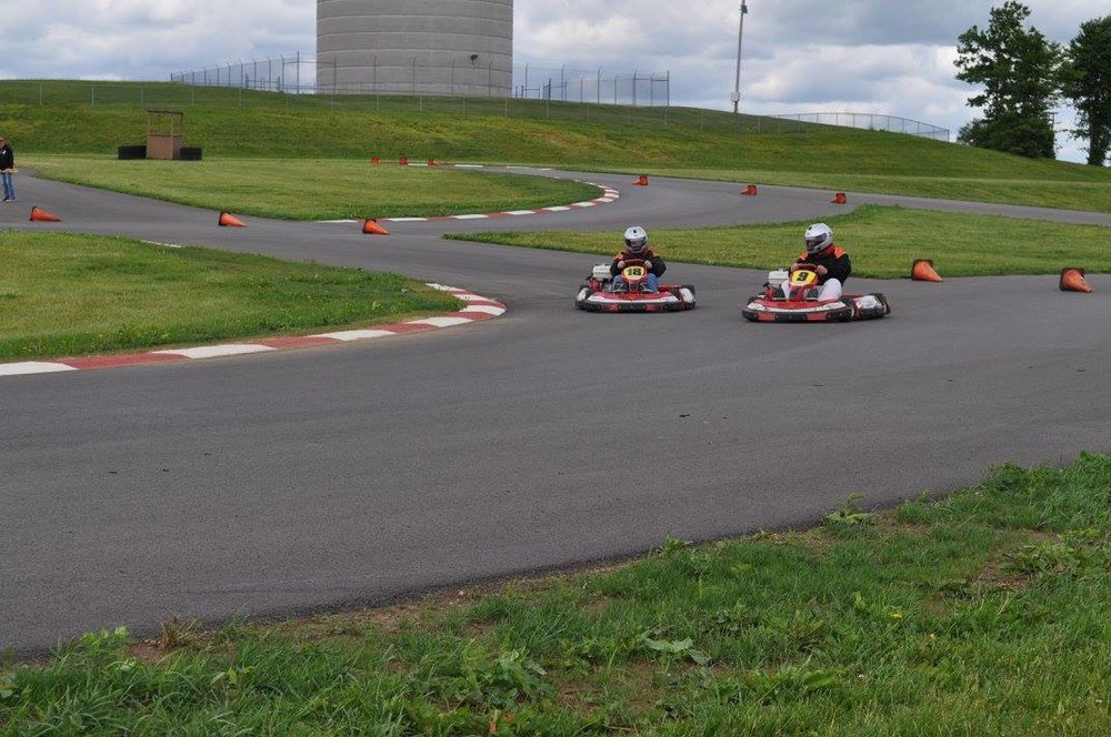 Full fleet of go-karts