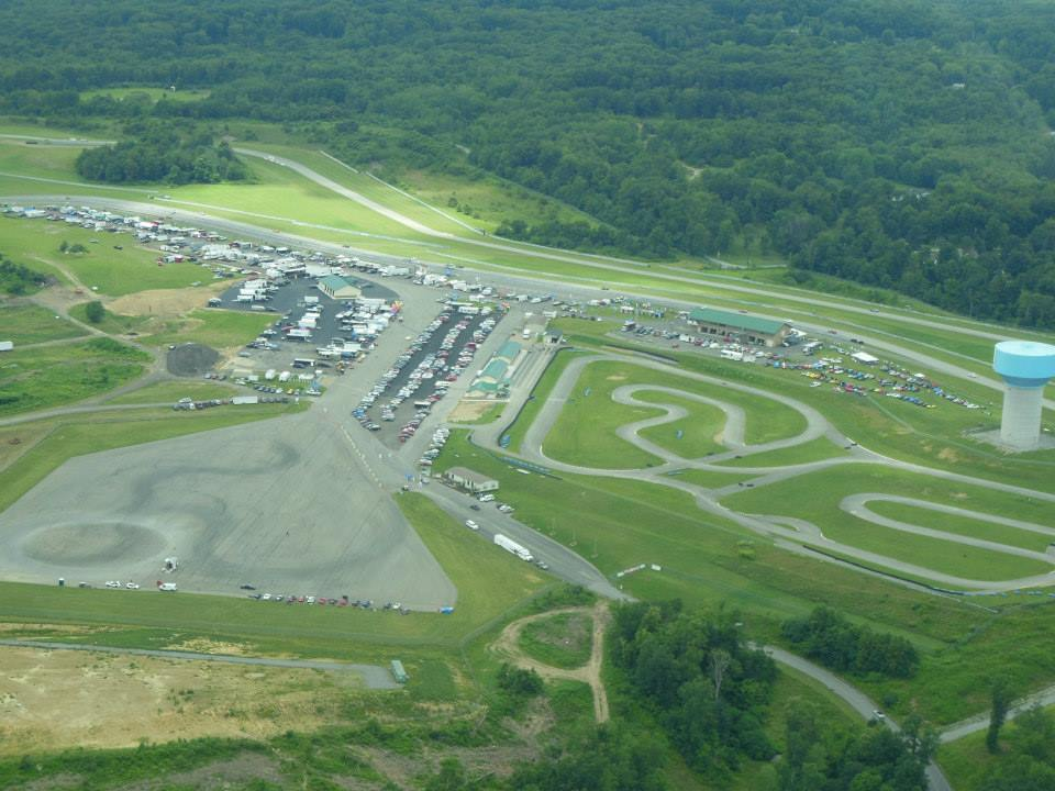 6-acre vehicle dynamics area for longer/different AutoX course!