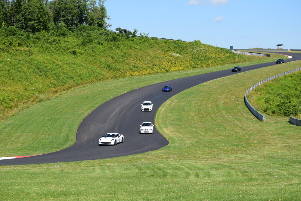 HPDE drivers will love the HUGE elevation changes in this track!