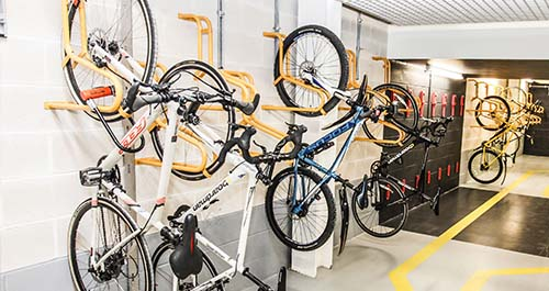 Wall Bike Racks