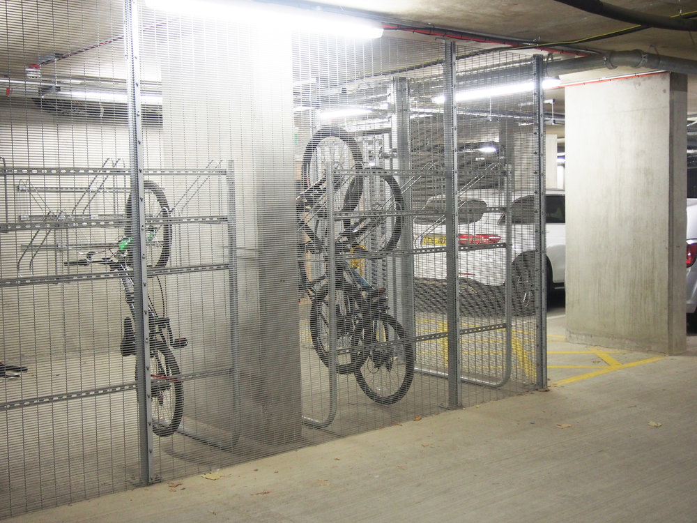 Lyon Square - Secured by Design cycle stores for Redrow Homes