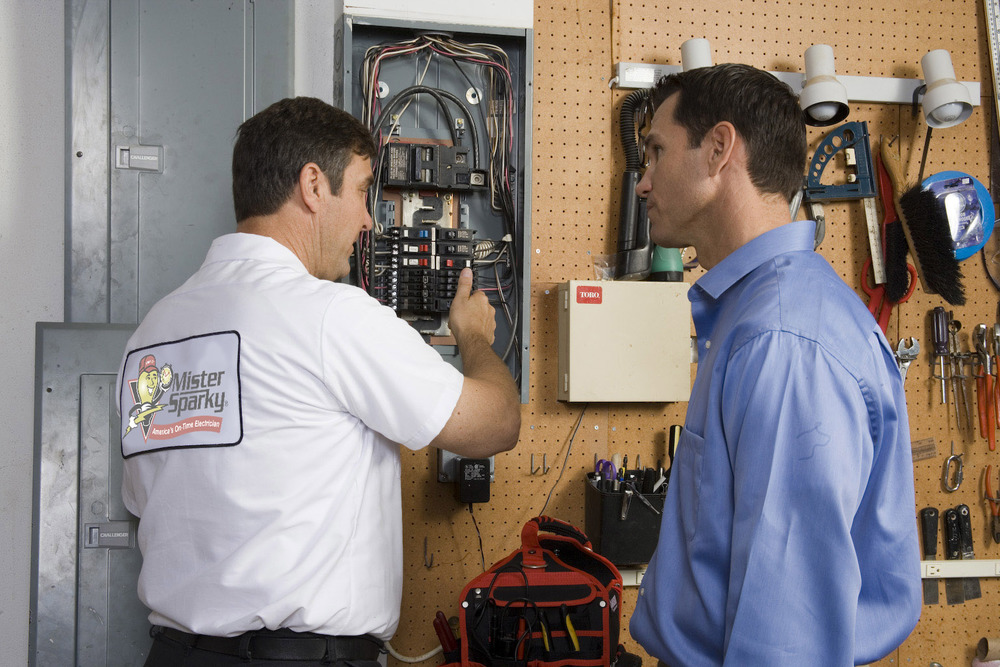 Mister Sparky's fully trained and licensed electricians in Nashville, TN give a full evaluation so you know exactly what electrical work needs to be done and why.