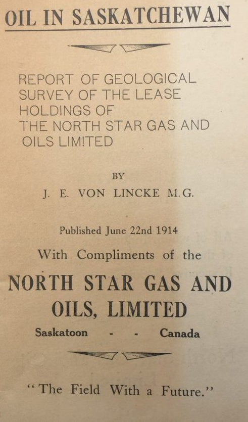 Prospectus for an investment with North Star Gas and Oil, offered by the Equitable Investment Co., LTD.