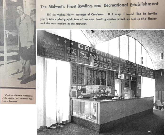 """""""The Midwest's Finest Bowling and Recreational Establishment."""""""