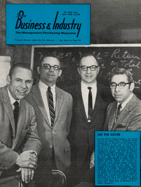 Iowa Business & Industry (April, 1969). Read the full article    here   .