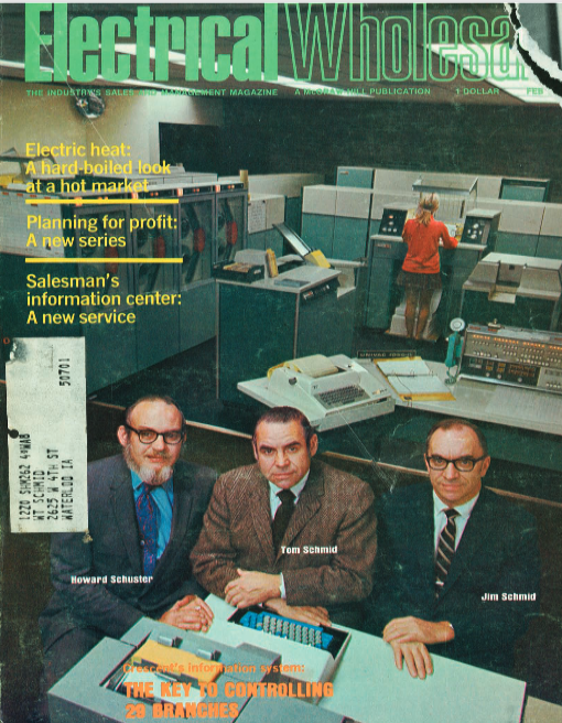 Electrical Wholesale Magazine (February, 1972). Read the full article    here   .