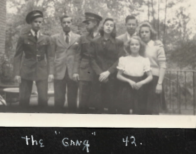 1942 Tom home on leave before deployment.