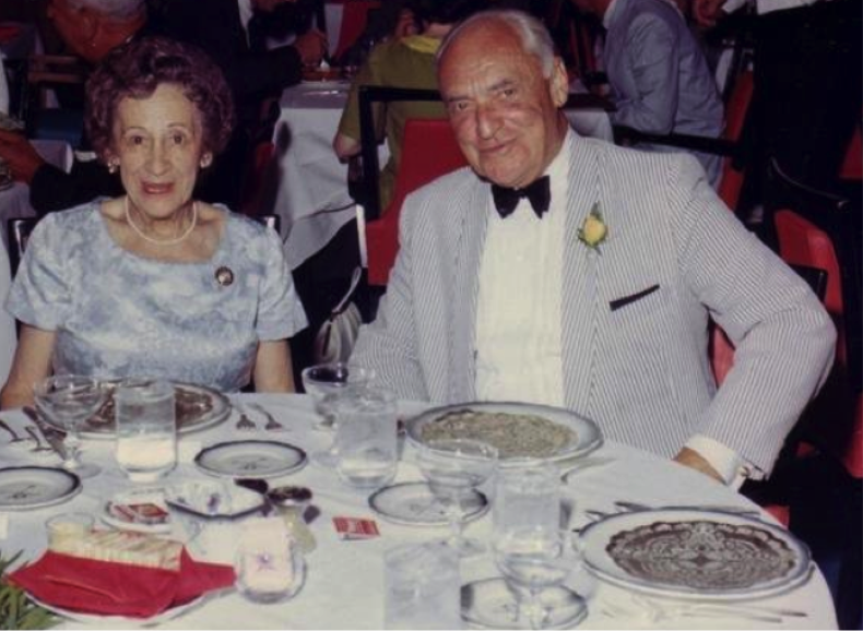 Doden and Titus celebrating their 50th Wedding Anniversary in 1967.