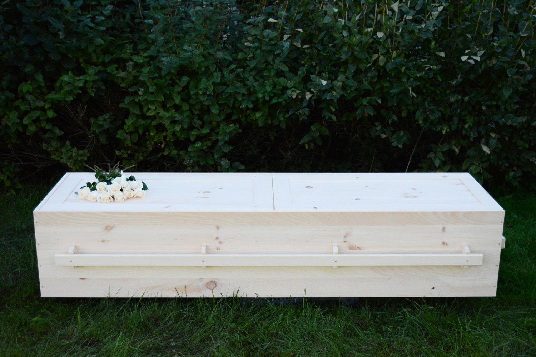 nb pine wood casket — fiddlehead casket company