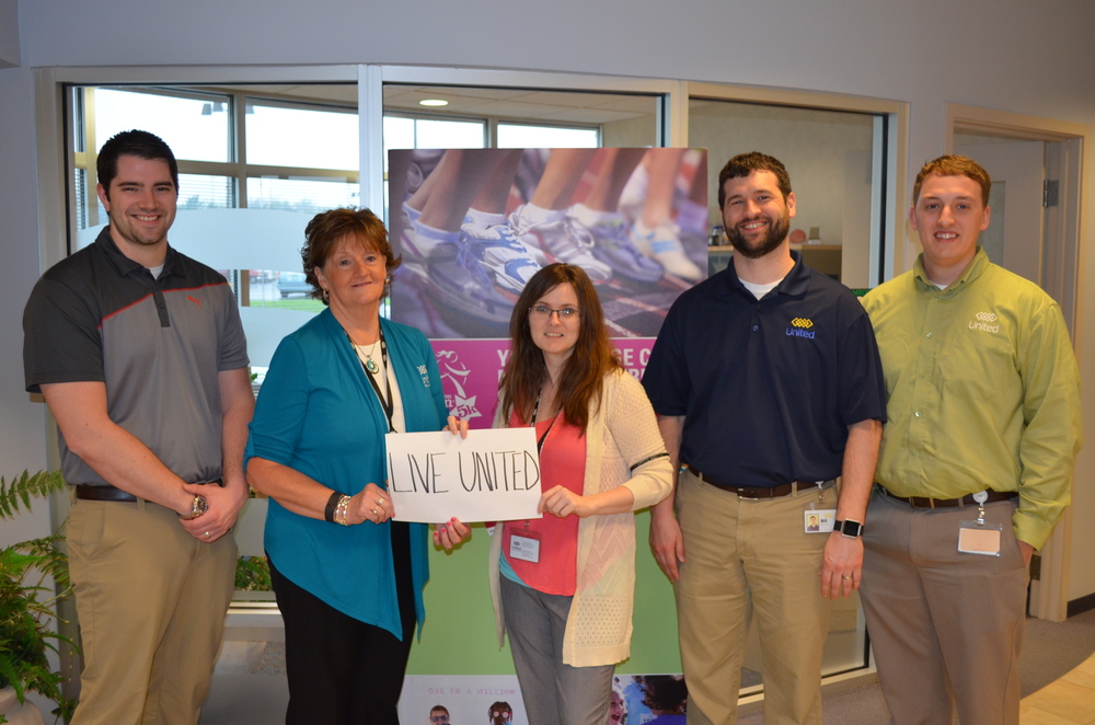 Berrien Springs Branch (left to right): Zack Book, Judy Larson, Juliet Sill, Bill Beckman, Dustin Jankoviak