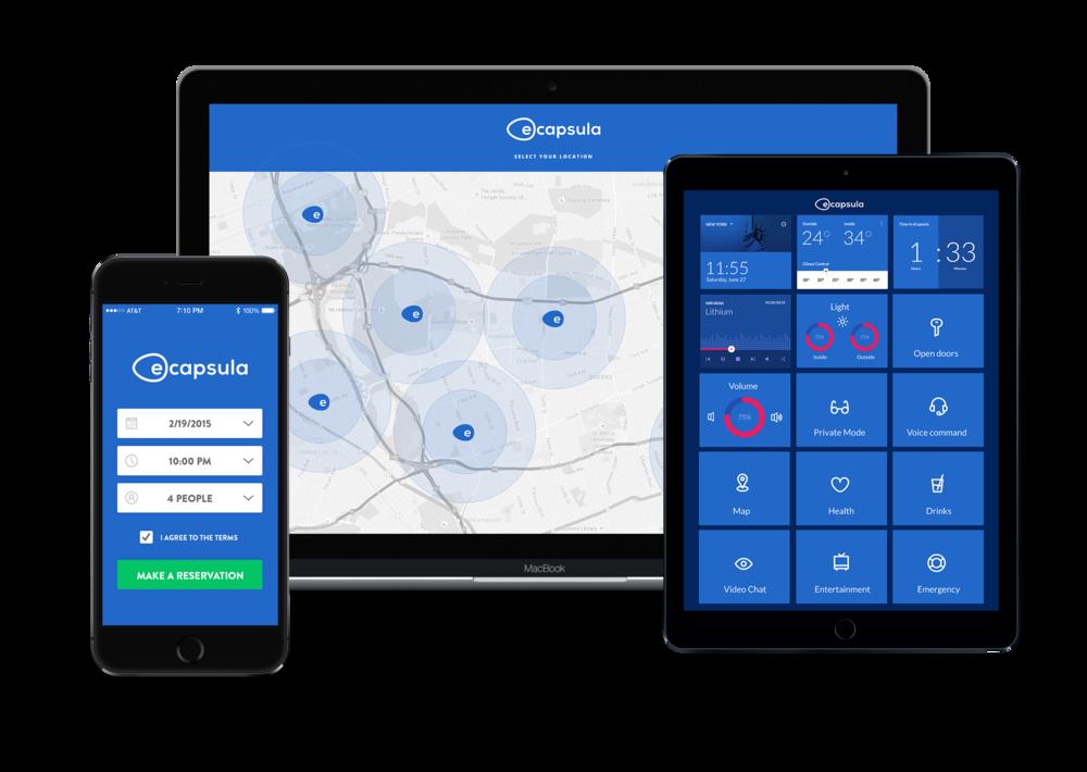 eCapsula Web & Mobile Application