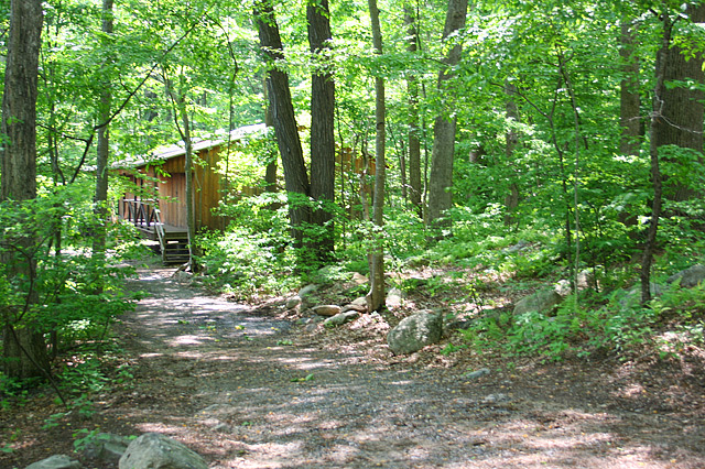 Camp Trail to Cabin 7 and 8