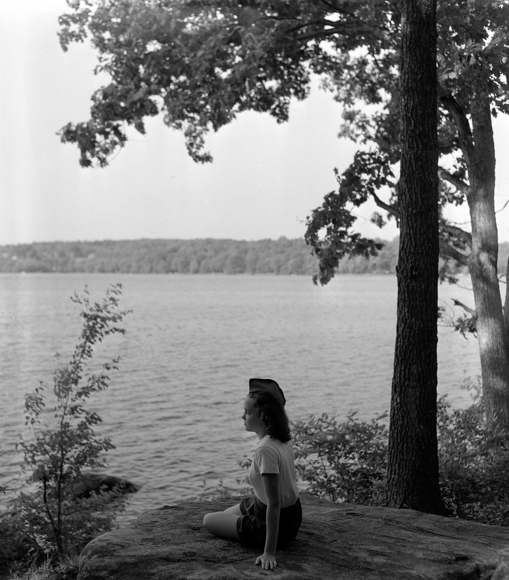 Girl by lake 1948.jpg