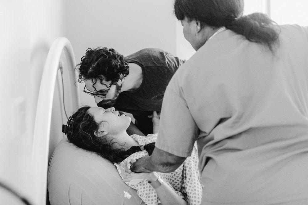 Birth photography: natural birth // Ash Davenport