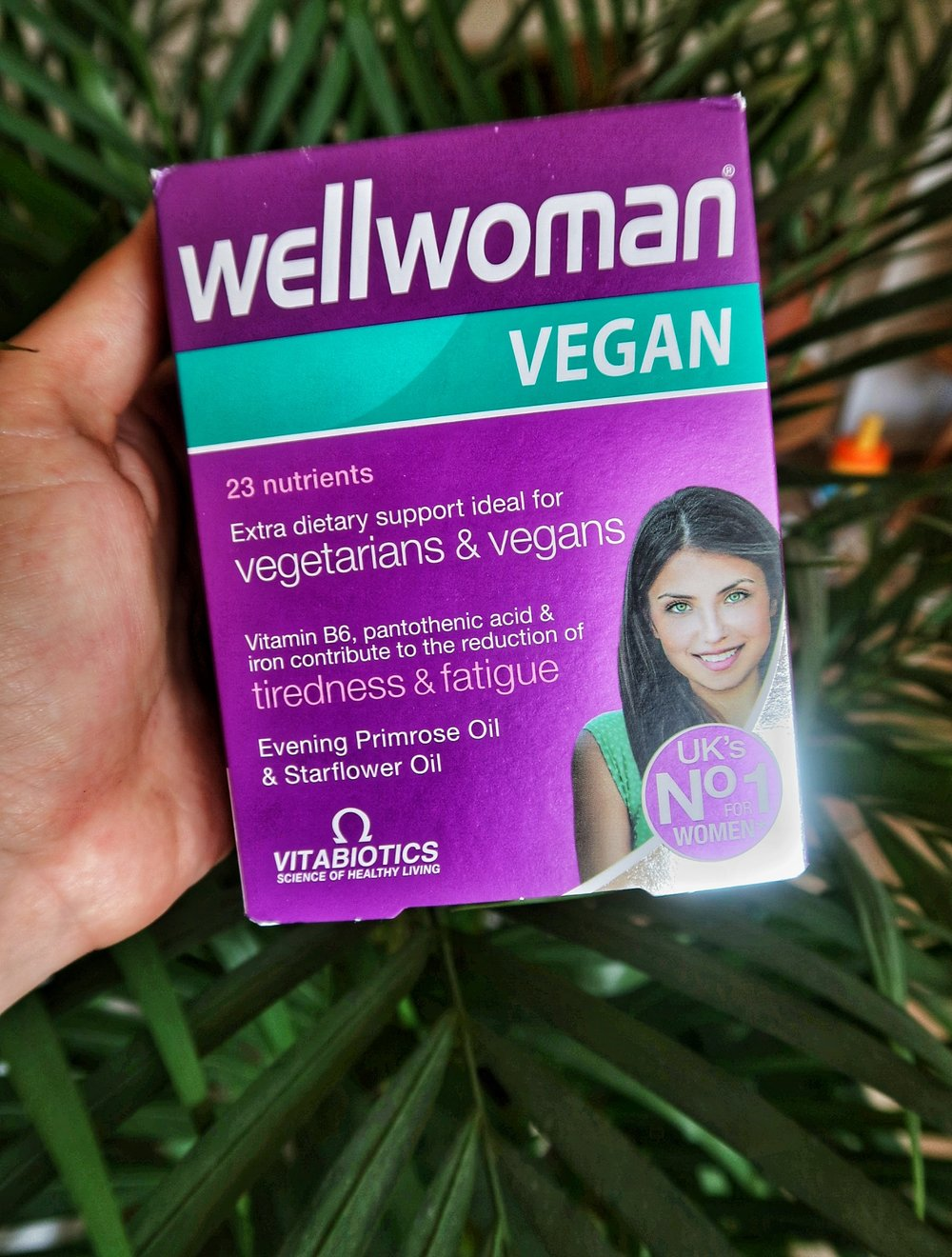 Wellwoman Vegan supplements by Vitabiotics